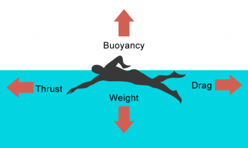 Upthrust-buoyancy