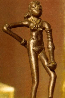 Indus Valley dancing girl