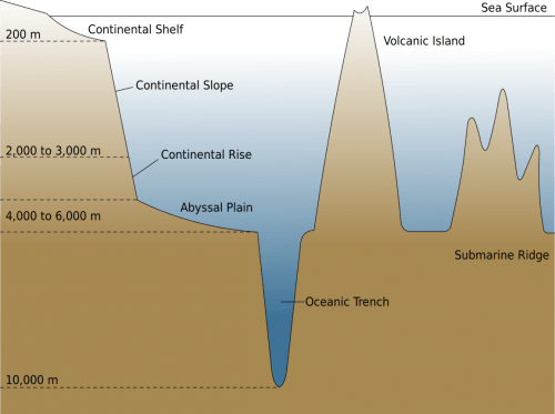 Continental Slope - Ocean Floor Division