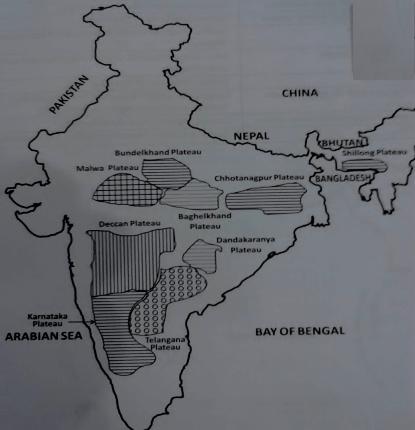 Peninsular Plateaus