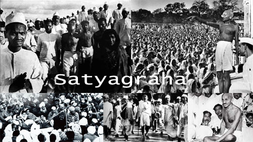 Gandhi in Africa satyagraha