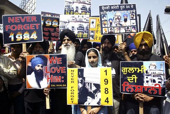 Anti Sikh Riots 1984