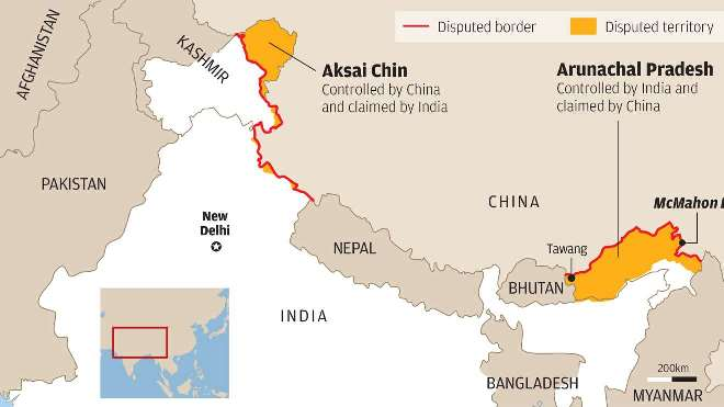 Border Dispute India China