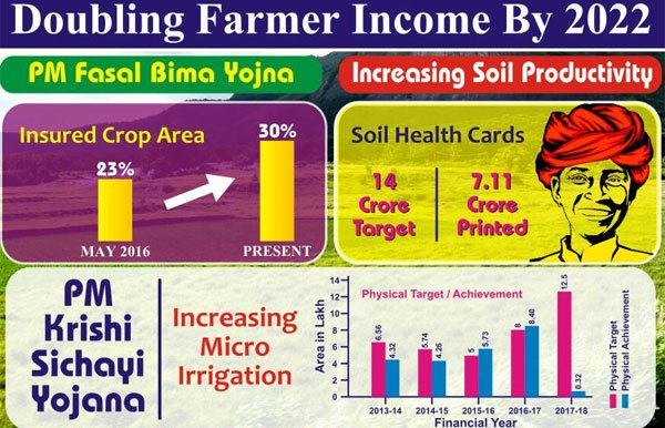Doubling Farmer Income by 2022
