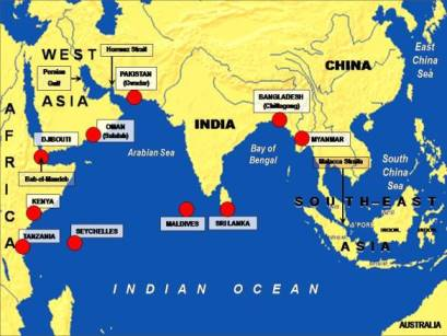 Indian Ocean and India